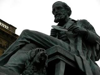 James Clerk Maxwell statue 3