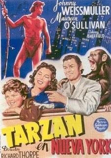 Tarzan en Nueva York (1942)