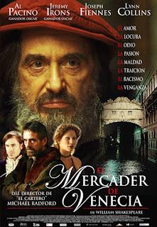 El mercader de Venecia cine online gratis