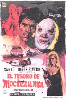 Santo en el tesoro de Moctezuma (1968)