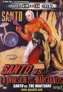 Santo contra la invasion de los marcianos (1966)
