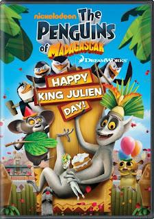 Los Pingüinos de Madagascar Feliz Dia del rey Julien (2010)