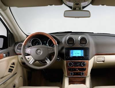 Mercedes-Benz GL-Class Interior Mercedes-Benz GL-Class