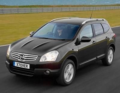 Nissan Qashqai 2008. Nissan Qashqai +2