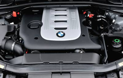 2009 BMW 3 Series Touring engine