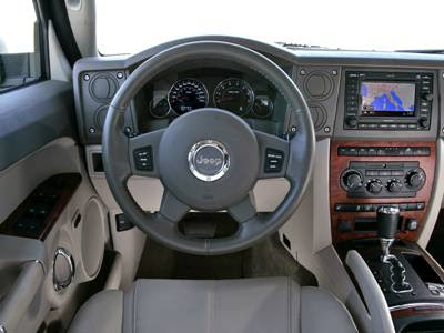 More 2006 Jeep Commander Limited Interior Photos