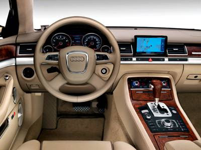 Audi A8 2011 Interior. 2009 Audi A8 Interior