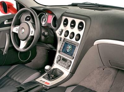 2011 Alfa Romeo Brera Design