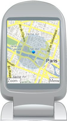 google maps ma position