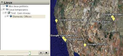 google earth lien reseau