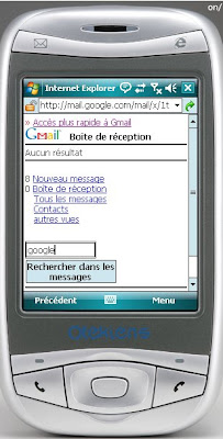 gmail pour mobiles