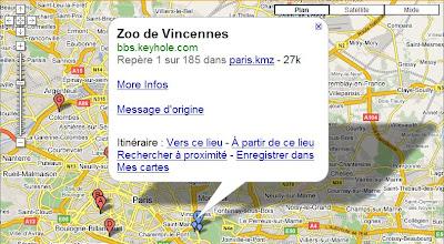 contenu des utilisateurs dans google maps