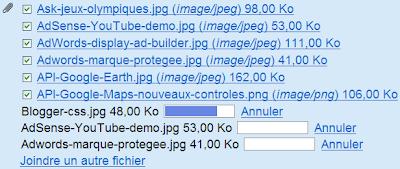 Envoi de pièces jointes groupées dans Gmail