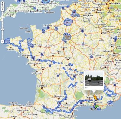 Des nouvelles villes françaises dans Google Maps Street View