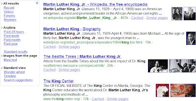 Une expérimentation Google