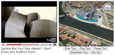 Synchroniser une vidéo YouTube avec un tour Google Earth
