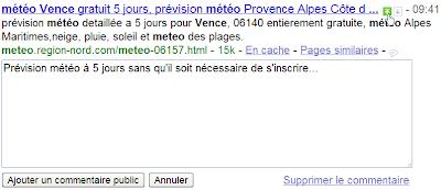 Personnaliser les résultats avec Google SearchWiki