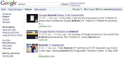 De nouvelles fonctions de recherche pour Google