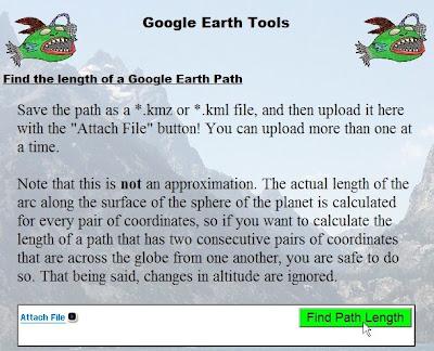 mesurer des distances avec Google Earth