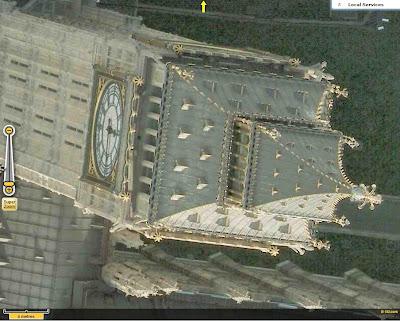 Imagerie aérienne de Londres en très haute résolution