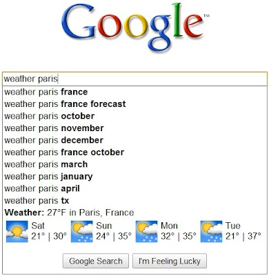 Les Onebox dans Google Suggest