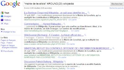 Google : les opérateurs secrets
