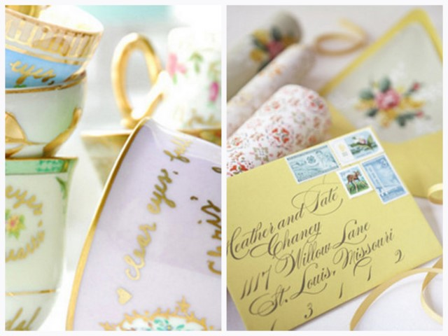 also be looking for vintage finds that would be ideal for wedding decor
