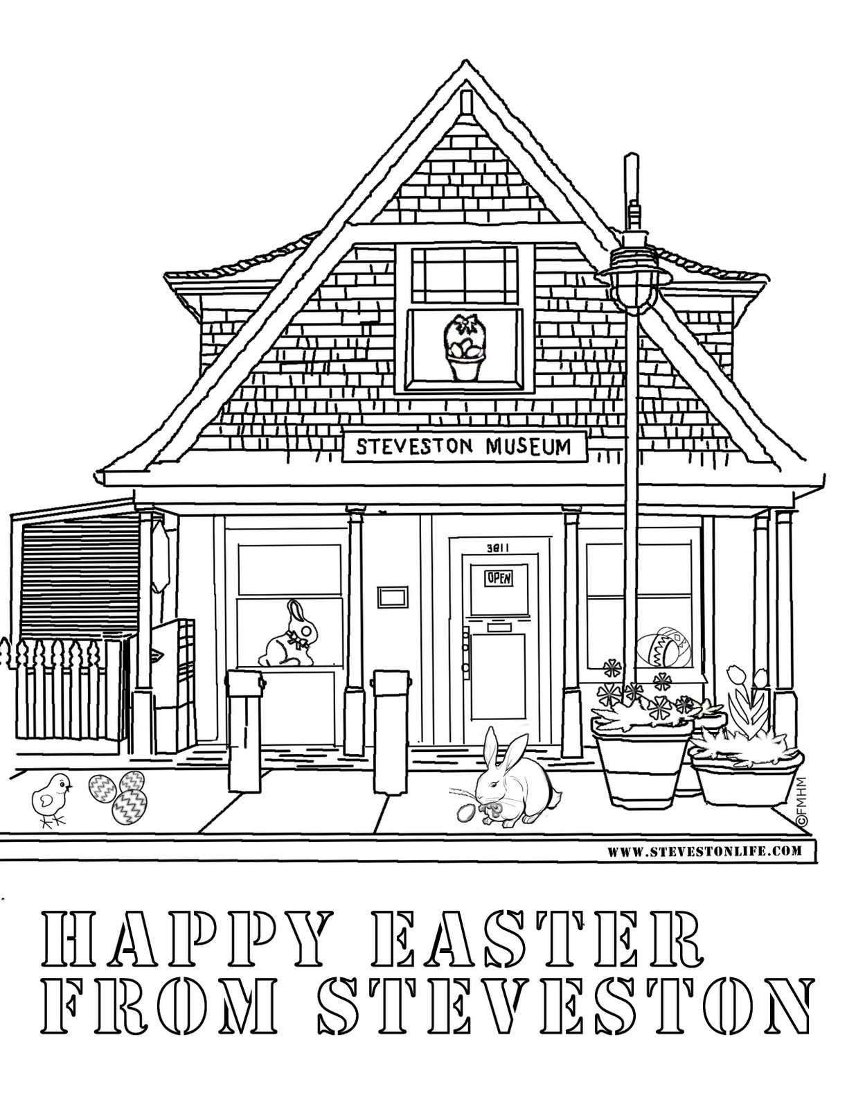 places coloring pages - photo#12