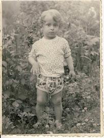 Eu, la trei ani