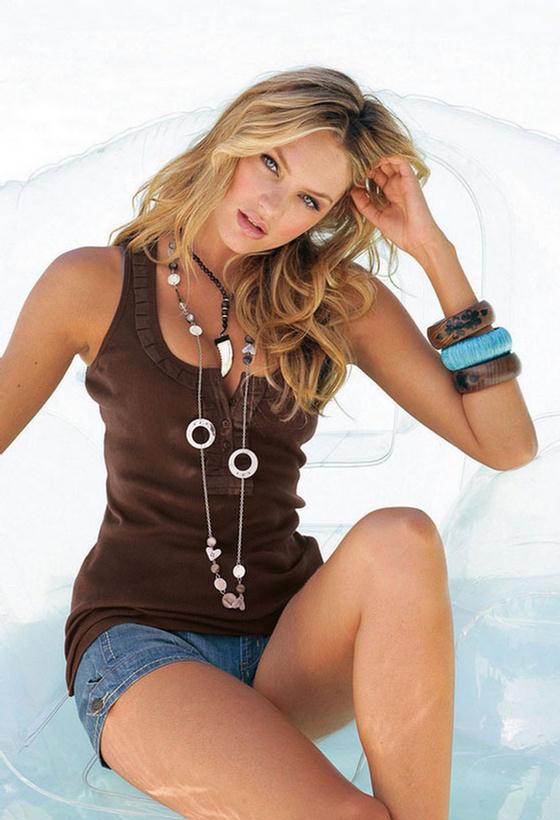 Funtrublog Candice Swanepoel Model Stylish Photographs