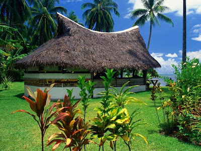 Bungalow of Moorea Island Seen On www.coolpicturegallery.us