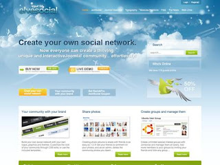 ElveSocial Joomla Themes