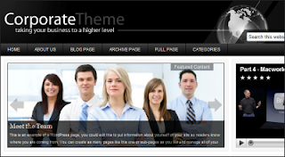 Corporate - Premium WordPress Theme from StudioPress