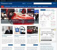 Finance - Joomla Template