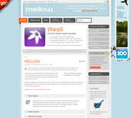Mellow - October 09 Joomla Template