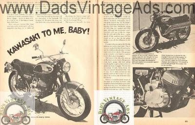 vintage kawasaki motorcycles