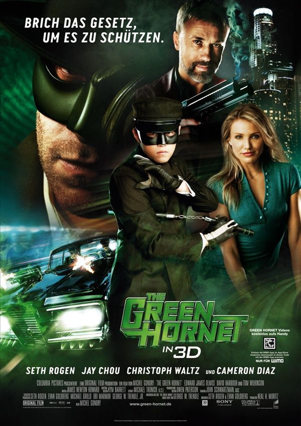 THE GREEN HORNET(2010)** out of **** Written by Seth Rogan based on