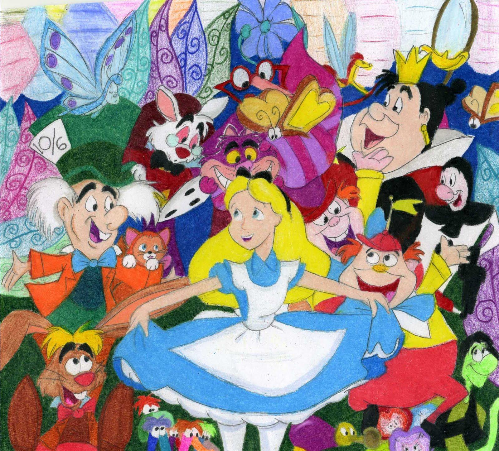CartoonsJasmineMarioSuper ManBugs Bunny Alice
