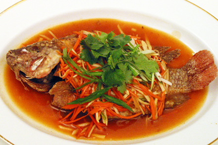 Let 39 s cook w prince bisoy escabeche recipe sweet for Fish escabeche recipe