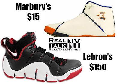 Stephon Marbury Shoes Black