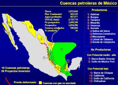Cuencas Sedimentarias de Mexico
