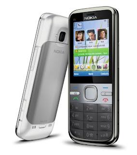 En sosyal Nokia, Nokia C5