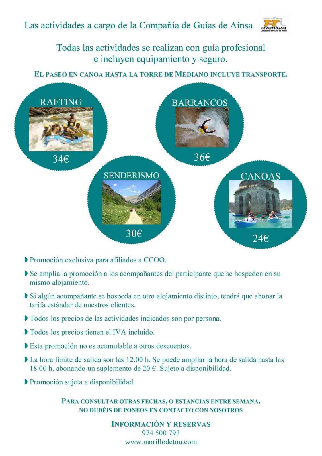 Secc sindical ccoo bella easo oferta ltima hora junio for Comisiones obreras exterior