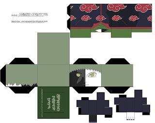 Zetsu Papercraft