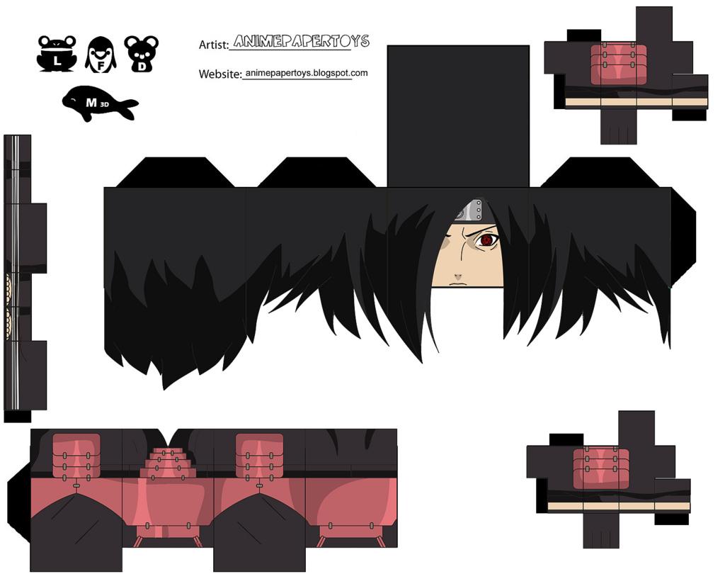 Naruto Papercraft Templates