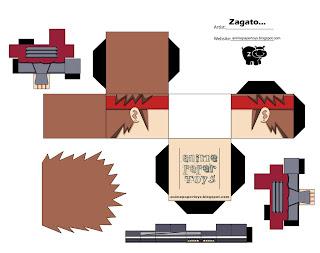 Chouji Papercraft