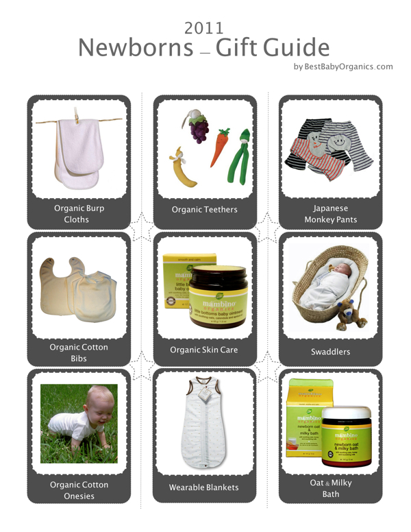 wonderful gift ideas for newborns. Look for product descriptions below