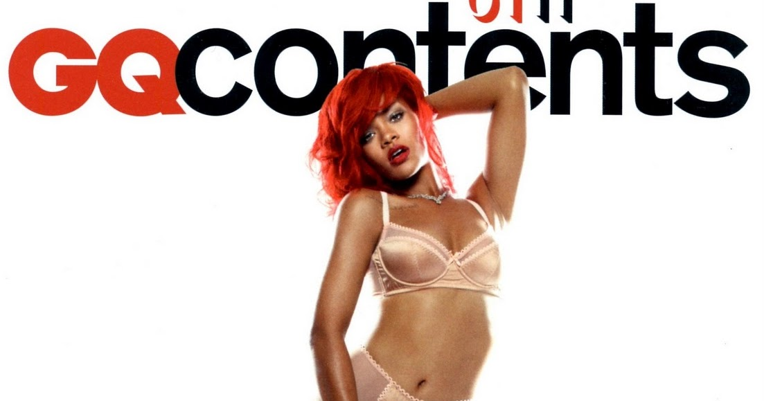 Rihanna Covers British GQ Magazine