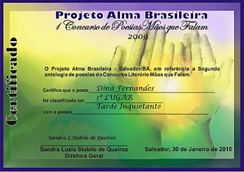 meu primeiro certificado com participaççao em Antologias