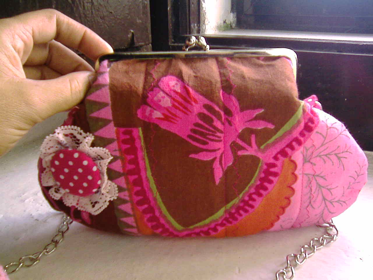 Porta Moedas Ou Clutch  In Bloom